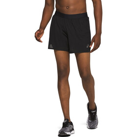 "asics Ventilate 2-i-1 5"" shorts Herrer, sort"